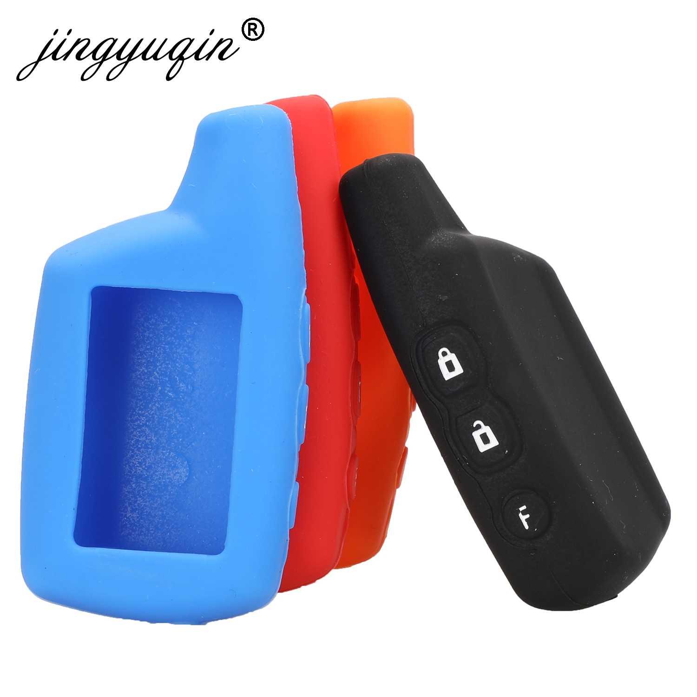 Силиконовый чехол-брелок jingyuqin DXL3000 для автомобильной сигнализации Pandora DXL3100/3170/3210/3250/3290, пульт дистанционного управления с ЖК-дисплеем
