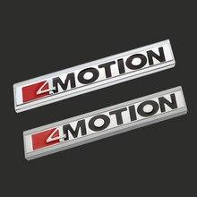 Etiqueta do carro 4 movimento grade dianteira decoração emblema para volkswagen tiguan l magotan b8 cc passat modificação do carro amortecedor dianteiro grill
