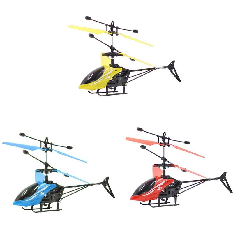 Mini Small Drone Induction Remote Control Helicopter Outdoor Toy Plane Infrared Sensor Toy Aircraft Kids Cool Electronic Toys