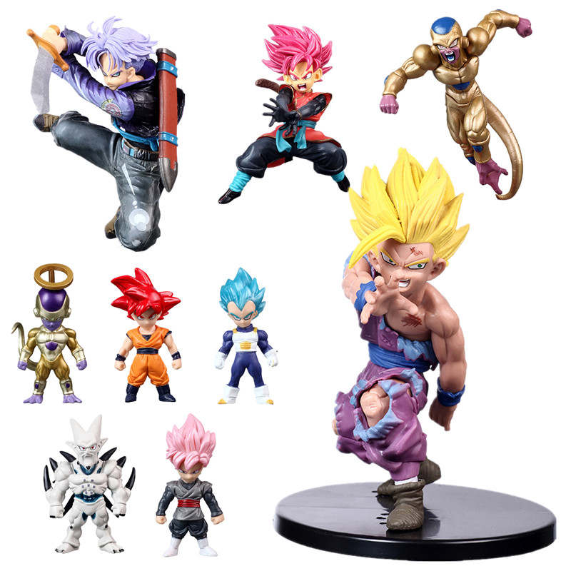 Anime Dragon Ball Z Super Saiyan Son Gohan Action Figures Master Stars Piece Dragonball Figurine Collectible Model Toy(China)