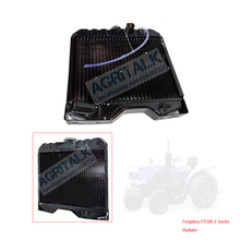 The radiator for Fengshou Estate FS180 3 tractor with engine J285T, part number: