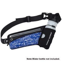 Waist-Bag Running-Belt Outdoor Sports Women with Water-Bottle-Holder Pouch Hydration