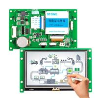 4.3 inch Touchscreen TFT LCD Monitor with Controller Board + Software for Industrial HMI Control