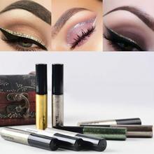 Makeup Sparkling Glitter Eyeliner Liquid Eye Liner Cosmetic Waterproof 8 Colors