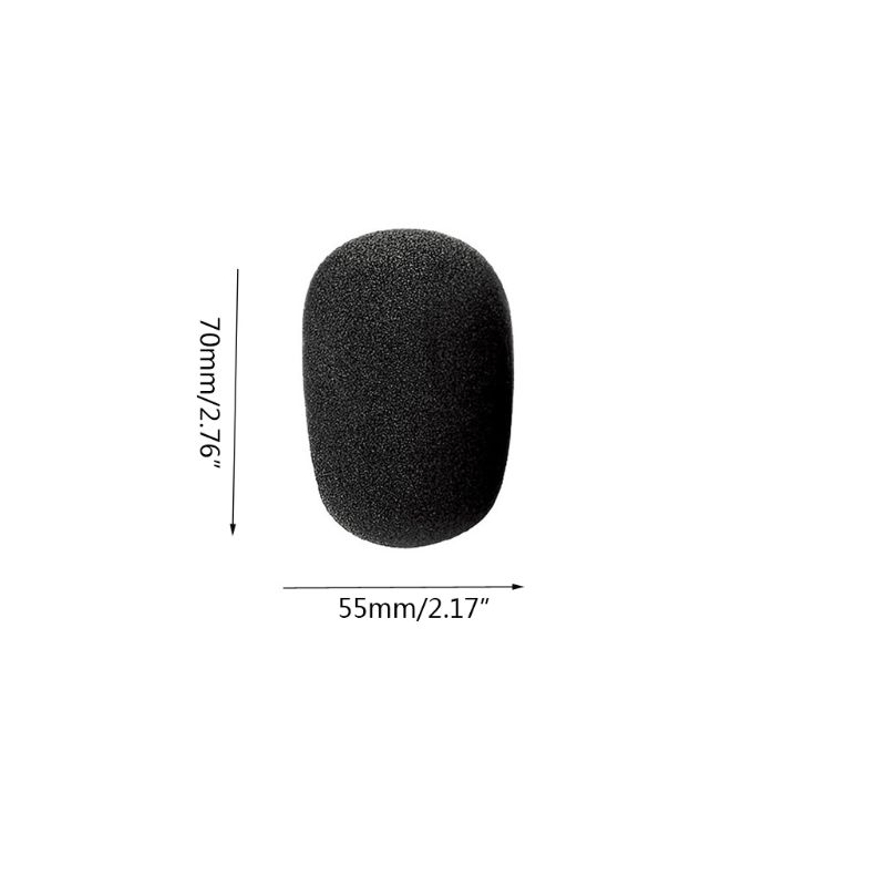 Windproof Mic Cover Foam Filter For ZOOM H1 H 1 H-1 Handy Recorder Pops