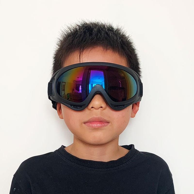 Профессиональные детские зимние лыжные очки, очки для лыж и сноуборда, солнцезащитные очки, спортивное оборудование для детей, мужчин и жен...