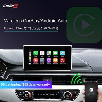 Беспроводная Автомагнитола Caelinkit для Audi A3/A4/A4/A5/A6/A7/A8/Q3/Q5 с AMI Airplay Mirrorlink, автоматическое подключение