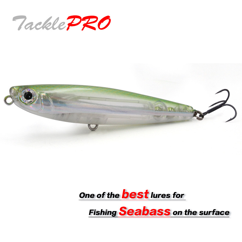TacklePRO PE06 Gloss Fishing Lure Pencil StickBait Lure 90mm11.5g Floating Wobblers Artificiais Decoy Hard Baits Vobler 6 Colors