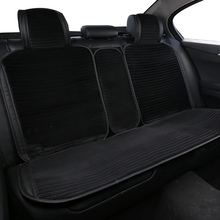 Artificial plush car seat cover rear seat part car seat cushion suitable for universal luxury car interior 5/7 seats