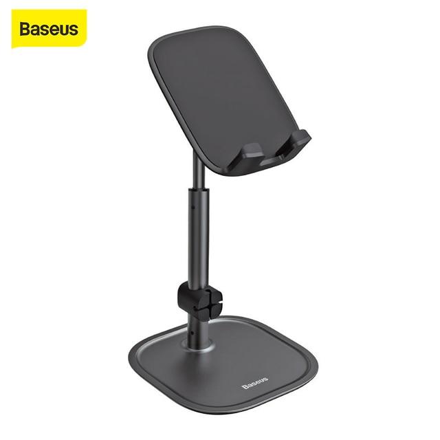 Baseus Telefoon Houder Voor Iphone 11 11 Pro X Xs Xr Android Huawei 360 Graden Roterende Laptop Houder Universele Desktop stand