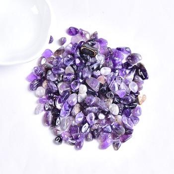 50g/100g Natural Crystal Gravel Specimen Rose Quartz Amethyst Home Decor Colorful for Aquarium Healing Energy Stone Rock Mineral - discount item  50% OFF Home Decor