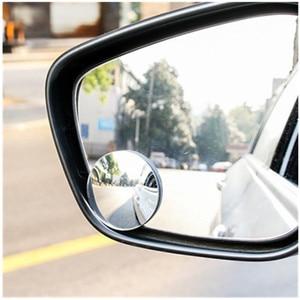 Image 2 - 360 고화질 블라인드 스팟 미러 자동차 역방향 Frameless 광각 둥근 볼록 백미러 자동차 부품