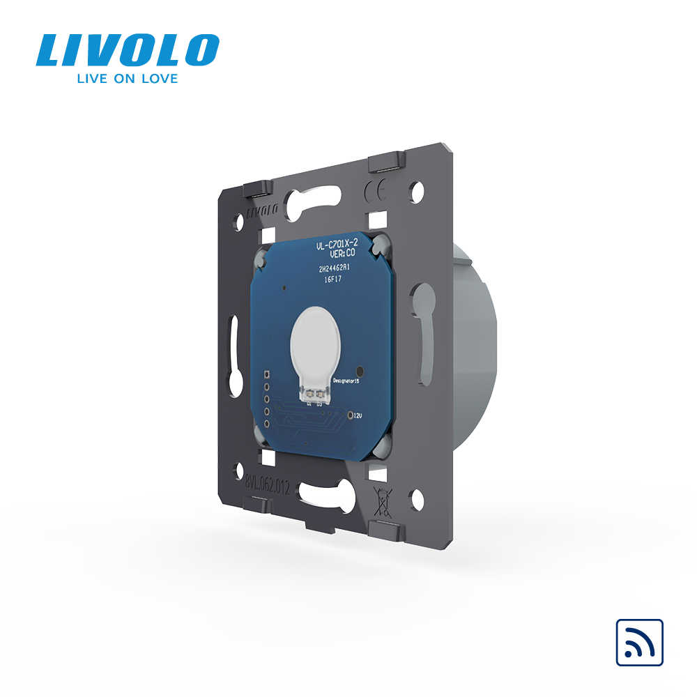 Livolo Eu Standaard Remote Switch Zonder Glass Panel, ac 220 ~ 250V Muur Light Remote & Touch Schakelaar, VL-C701R