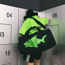 Fish Pattern Training Sports Bags for Fitness Women Tote