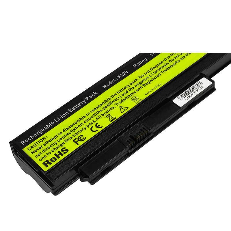 ApexWay 4400mAh batterie d'ordinateur portable Pour Lenovo 42T4863 42Y4864 42T4867 0A36281 0A36282 0A36283 Pour ThinkPad X220 X220s X220i Serie