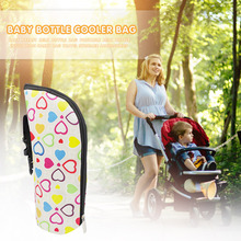 Milk Bottle Warmer Portable Bag Non-toxic Feeding Baby Bag Breast Bottle Insulated Tote Bag Safety Stroller Accessories