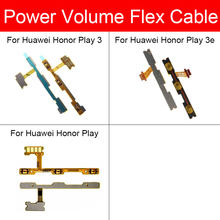 Power & Volumeปุ่มFLEX CABLEสำหรับHuawei Honor Play 3 3Eด้านข้างButoon Flex RIBBON CABLE REPLACEMENT Repairอะไหล่(China)
