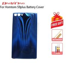 BingYeNing New Original For Homtom S9 Plus battery case Protective Battery Case Back Cover