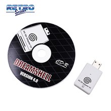 RetroScaler The New Second-generation SD Card Reader Adapter + CD with DreamShell_Boot_Loader for DC Dreamcast Game Console