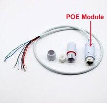 X 4 sztuk, wodoodporna, wbudowana 48V moduł POE przewód Lan dla kamera ip cctv pokładzie adapter POE Power over Ethernet Lan