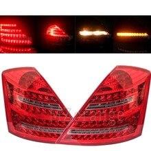 Luz LED trasera reflectante para mercedes-benz W221 Clase S 2007 2008 2009, luz de freno de parada de señal, accesorios para coche