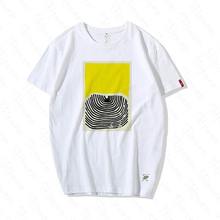 Colorful Modern Art Women Tshirt Vintage Korean Style Punk 100% Cotton Plus Size Short Sleeve Skipoe