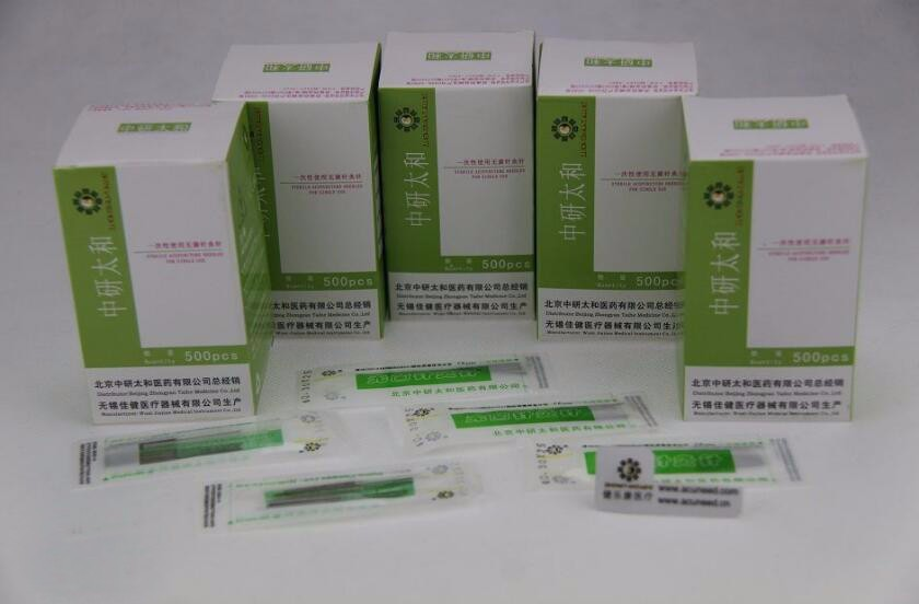 Acupuncture-Needle Disposable Zhongyantaihe 500pcs Sterile Beauty Authentic title=