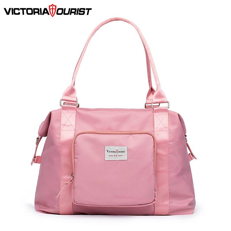 Victoriatourist Handbag women Luggage bag stylish versatile Shoulder bag for commute travel leisure gym General purpose pack