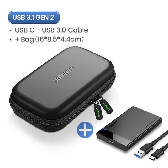 USB C Add HDD Bag