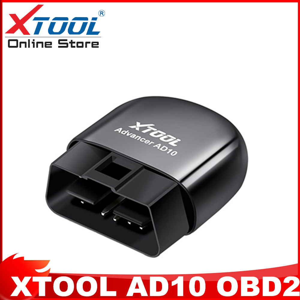 XTOOL AD10 Diagnostic Scanner EOBD Bluetooth ELM327 Code Reader OBD2 Code Scanner Work with Android Windows