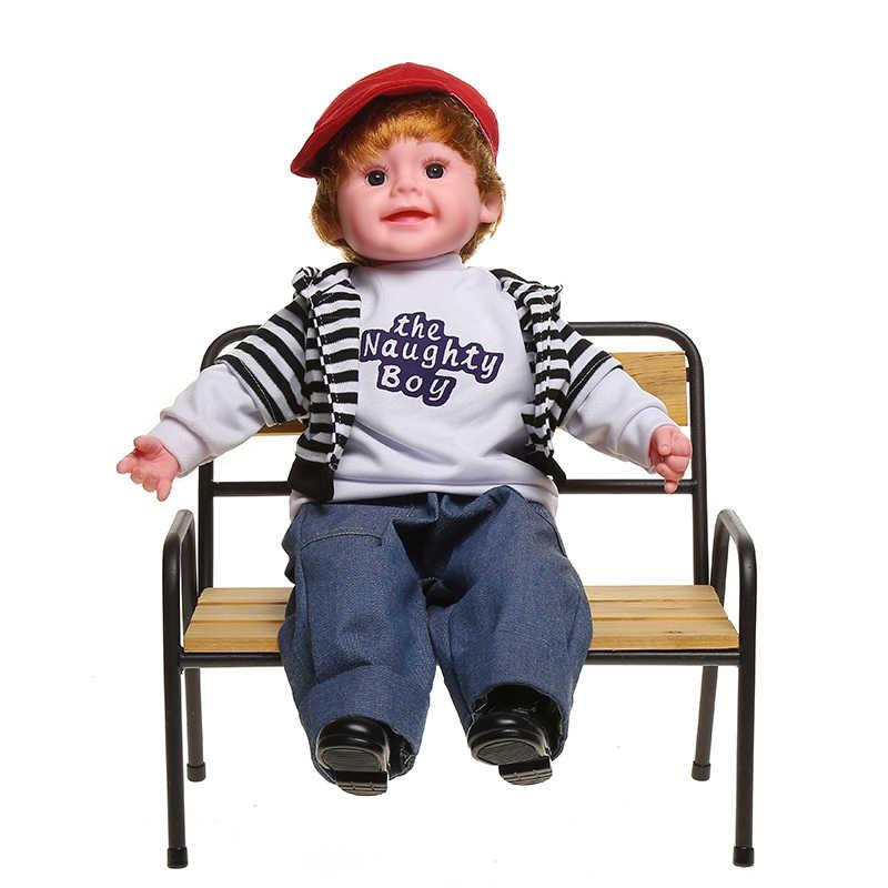 Мягкая силиконовая Реалистичная Модная Кукла lol Кукла-мальчик малыш мальчик Кукла Детская кукла игрушки девочки игровой дом игрушки куклы для детей
