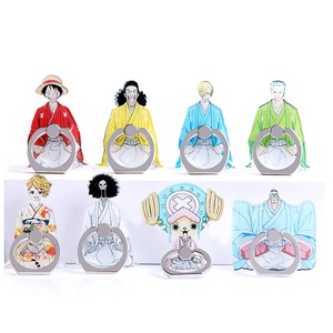 Mobile Phone Stand Holder Anime ONE PIECE Finger Ring Smartphone Holder Stand For iPhone Huawei Xiaomi All Phone