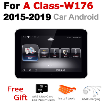 For Mercedes Benz A Class W176 2015 2016 2017 2018 2019 NTG Car Android Radio GPS Multimedia player stereo HD Screen Navigation