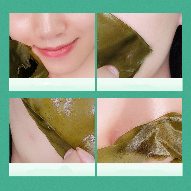 Dr Sugarm Green Tea Face Mask Remove Acne Blackhead Nose Deep Cleansing Pore Strip Moisturizing Peel Mask Whitening Cream 40g in Treatments Masks from Beauty Health