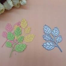 Прозрачные штампы из березы и кленовых листьев стальное тиснение