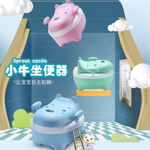 Toilette pour enfants, siège bébé, dessin animé, petit urinoir, vente en gros universelle pour hommes et femmes
