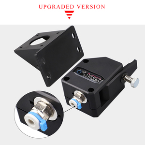 Image 3 - 3D Printer Parts BMG Extruder Clone Dual Drive Extruder upgrade Bowden extruder 1.75mm filament for 3d printer CR10