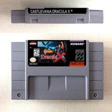 Castlevania drácula x cartão de jogo de ação eua versão inglês