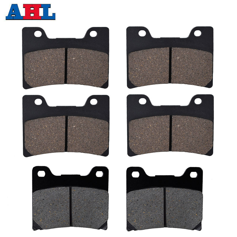 Motorcycle Front and Rear Brake Pads For YAMAHA FZR600 FZR 600 YZF 600R YZF600R FZR750 FZR <font><b>750</b></font> Genesis FZ750 <font><b>FZ</b></font> <font><b>750</b></font> 87-99 image