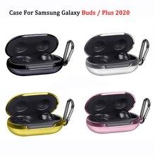 Caso para samsung galaxy buds + mais caso 2020 capa de luxo tpu galvanoplastia fone de ouvido capa protetora para galaxy buds 2019 caso