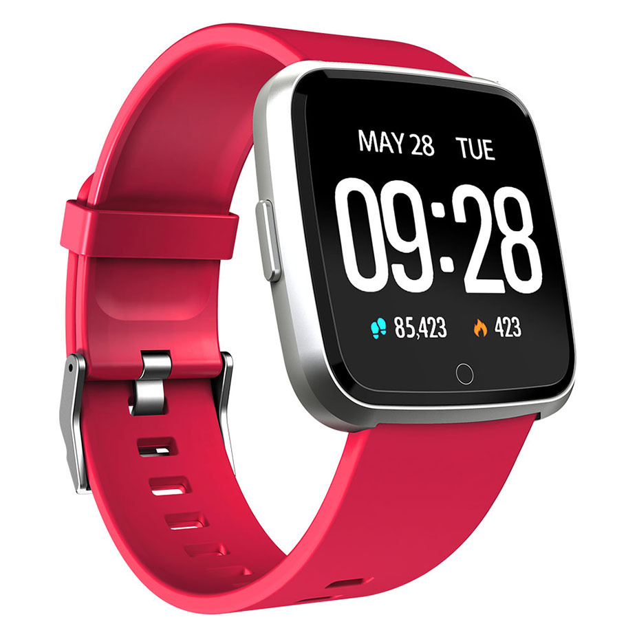 2019 <font><b>Y7</b></font> Smart watch Women Waterproof Fitness Tracker Blood Pressure Heart Rate Monitor men Clock <font><b>Smartwatch</b></font> For Android IOS image