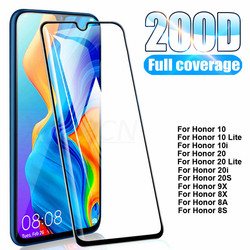 На Алиэкспресс купить чехол для смартфона 200d tempered glass on the for huawei honor 10 20 lite v20 v30 10i 20i 20s 9x 8x 8a 8s screen protective glass safety film case