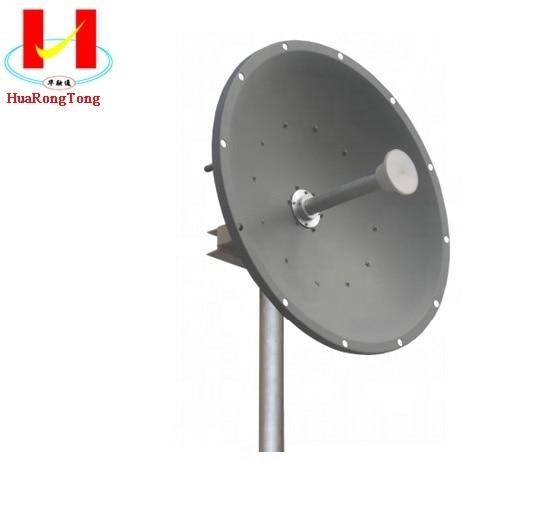 30dbi Dual Polarization Mimo Dish Parabolic 5.8ghz Antenna Antenna Wifi