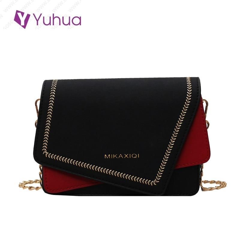 Yuhua 2020 New Fashion Woman Handbags, Trend Patchwork Women Bag, Simple Korean Version Shoulder Bag, Casual Messenger Bags.