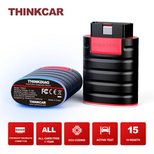 THINKCAR ThinkDiag OBD2 Scanner All Cars Free Code Reader Full Systems Bluetooth Auto Diagnostic Tools TPMS 15 Resets Programmer