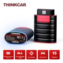 THINKCAR ThinkDiag OBD2 tarayıcı tüm arabalar ücretsiz kod okuyucu tam sistemleri Bluetooth otomatik teşhis araçları TPMS 15 sıfırlama programcı