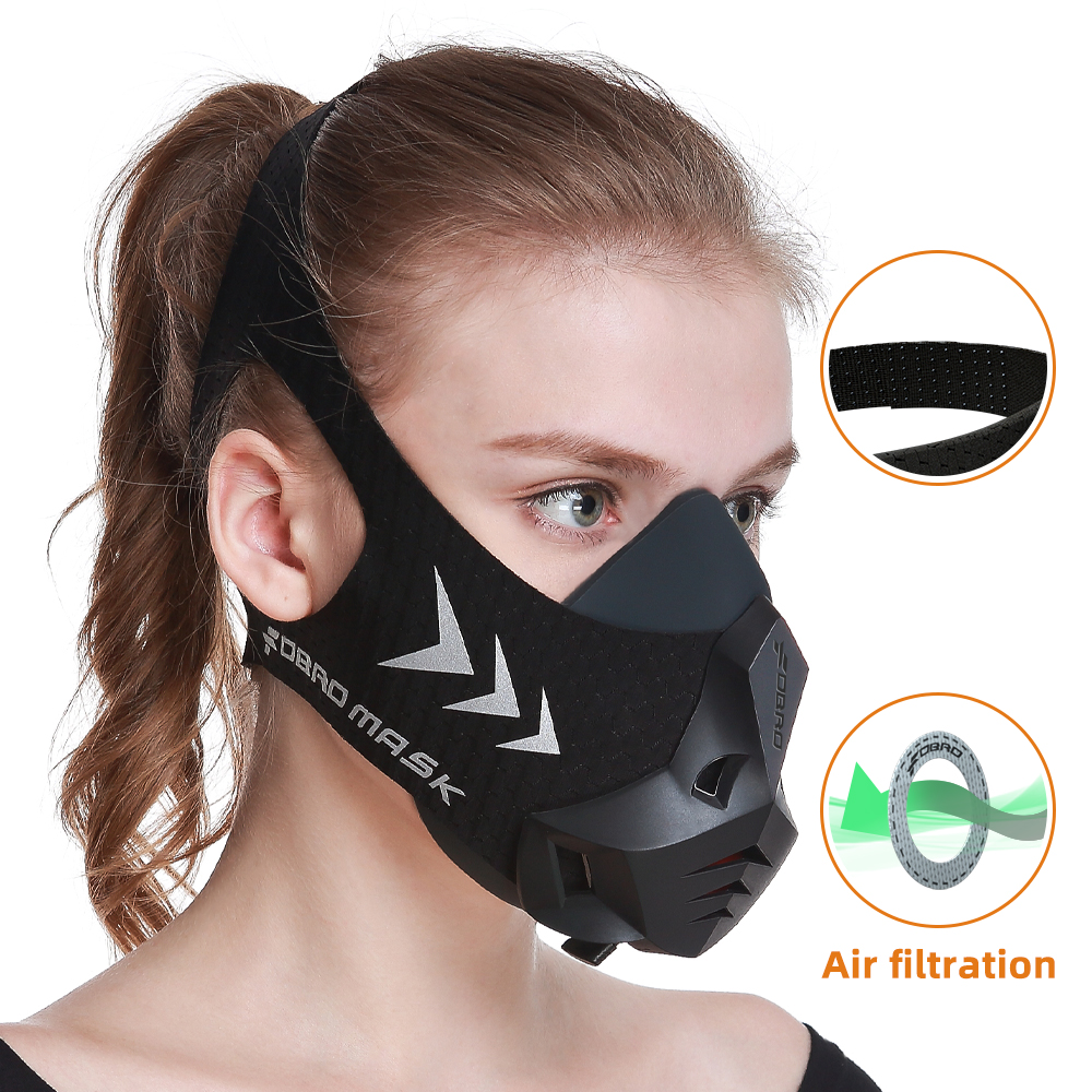 FDBRO Fitness training sports mask Pro Exercise Workout Running Resistance Cardio Endurance sport High Altitude Athletics Mask-in Masks from Security & Protection