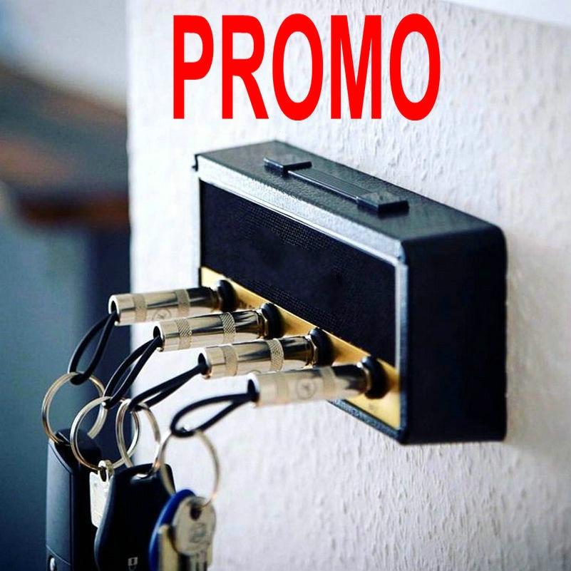Для хранения ключей брелок-Гитара Держатель Jack II стеллаж для выставки товаров 2,0 электрическая стойка для ключей Винтаж усилитель JCM800 подар...