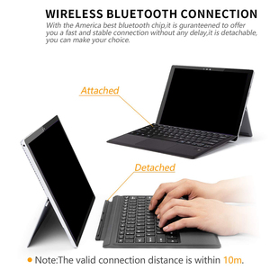 Image 4 - For Microsoft Surface Pro 3 4 5 Tablet Magnetic Bluetooth Bluetooth Keyboard PC Laptop Gaming Keyboard