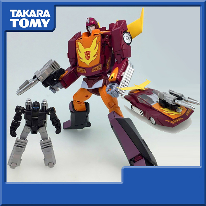TAKARA TOMY Transformers Robots MP-40 Hot Rod Master level Deformation Action Figure Toys Collections image
